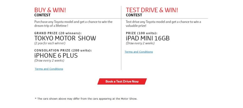Toyota Malaysia Test Drive & Win1