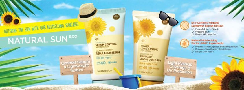 Win Natural Sun Eco Suncare Hamper at The Face Shop Singapore1
