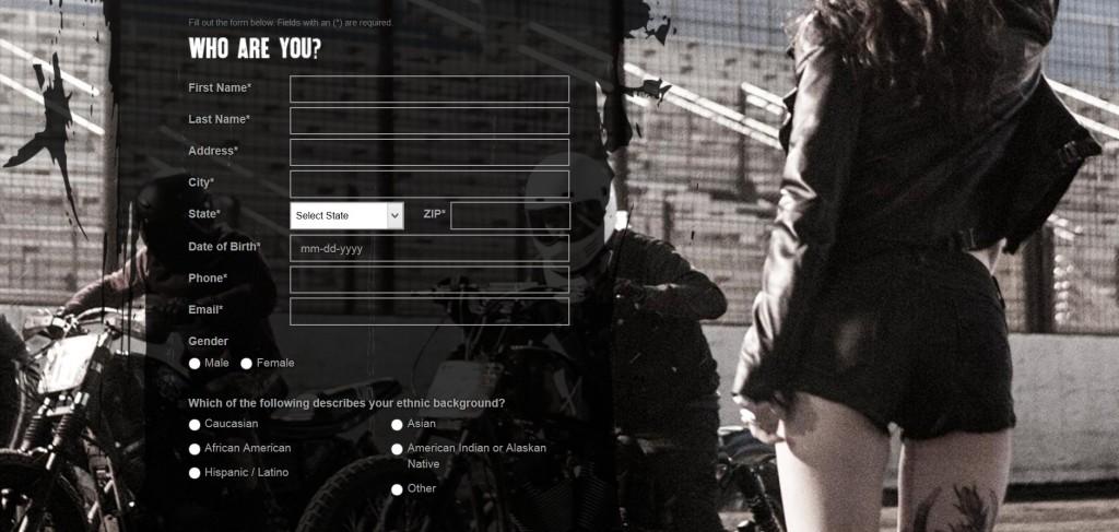 Free Harley-Davidson® Roll Your Own sticker