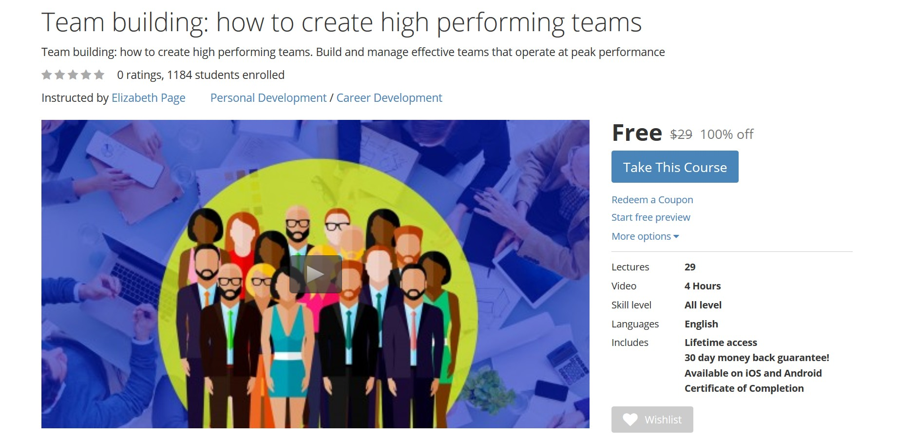 team and building effective teams Building and leading high performance teams an effective team has common goals effective teams have agreed-upon goals that are simple.