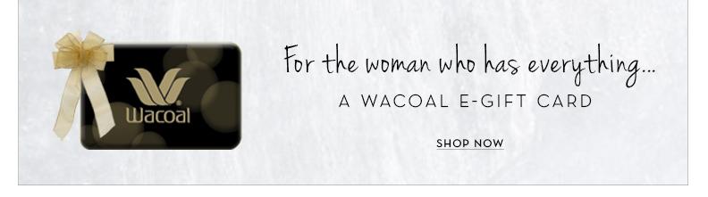 Wacoal Gift Card Code Giveaway
