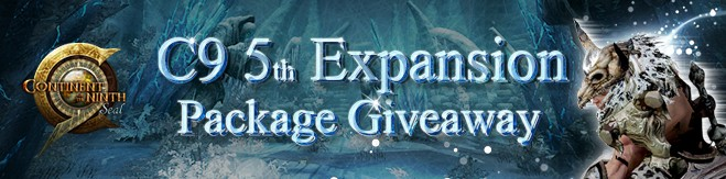 C9 5th Expansion Pack Giveaway