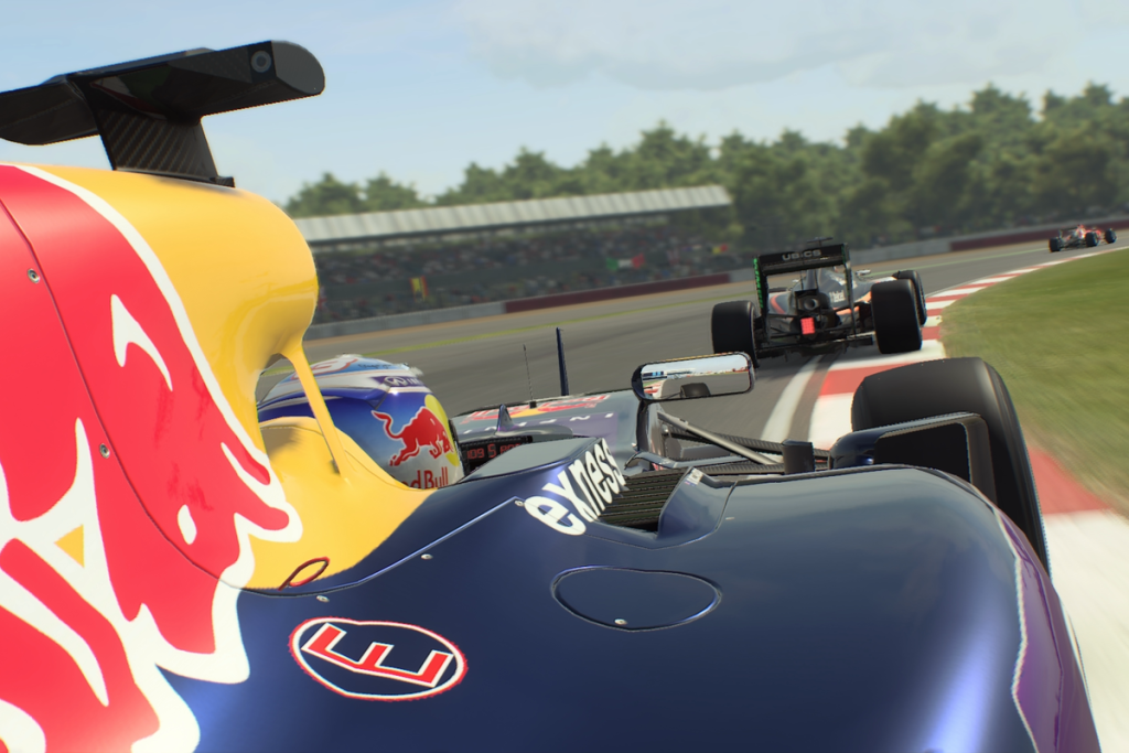 F1 2015 on PS4 The Red Bull giveaway