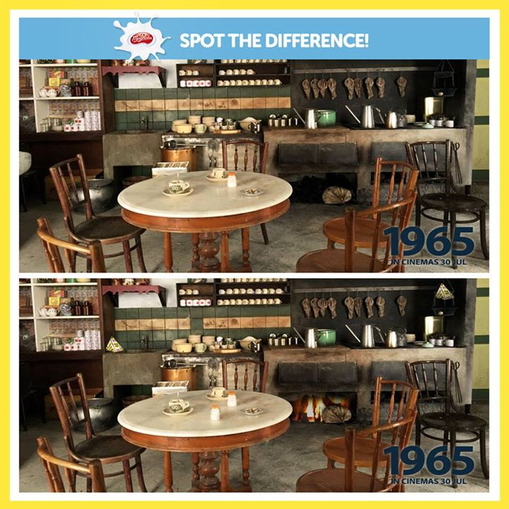 F&N Magnolia Singapore Spot the difference contest