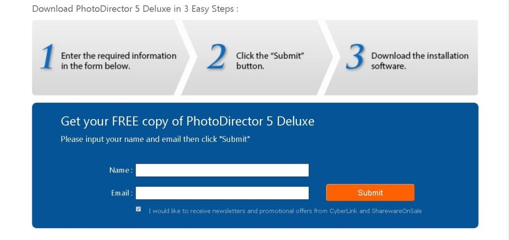 Free License Key Cyberlink PhotoDirector 5 Deluxe
