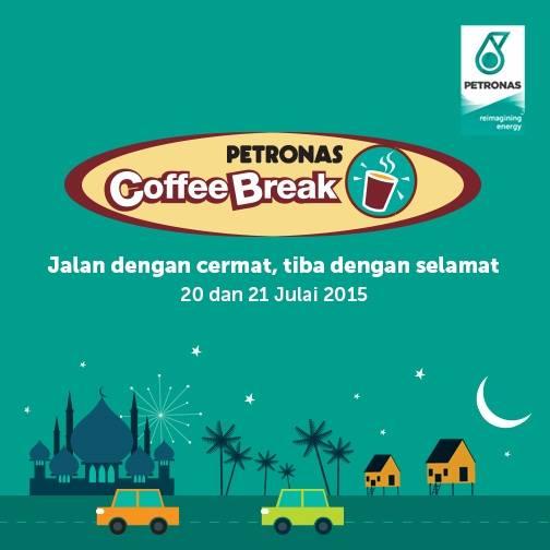 Free snacks and drinks at PETRONAS Malaysia