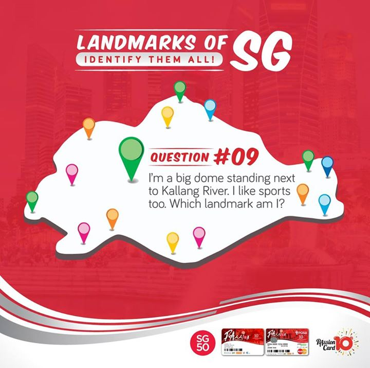 Landmarks of SG #9 Contest at PAssion Card Singapore