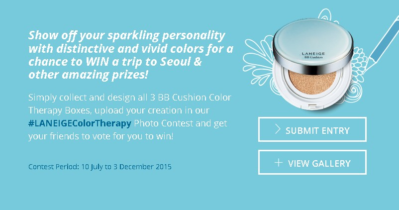 Laneige Colour Therapy Photo Contest (2)
