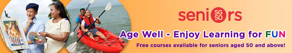 SG50 Seniors Age Well Free Courses at C3A