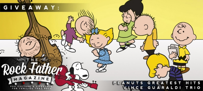 The Rock Father Giveaway Win PEANUTS Greatest Hits by the Vince Guaraldi Trio