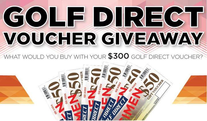 Win $300 Golf Direct Voucher