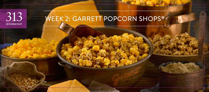 Win $50 worth of Garrett Popcorn Shops® vouchers at 313@somerset