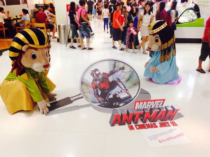 Win Ant-Man merchandise worth RM300+ at Sunway Pyramid Malaysia
