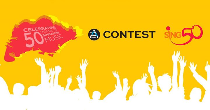 Win Tickets to Sing50 concert at AList SG