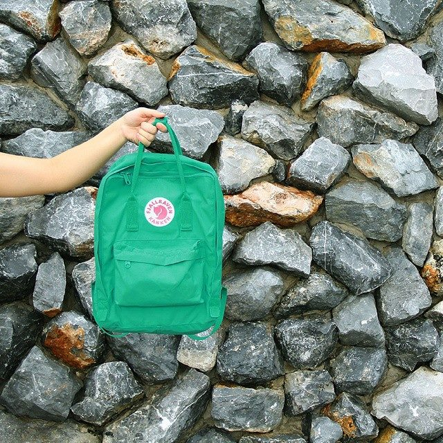 Win a rare Kanken Classic in Teal Green - enter our Share to Win