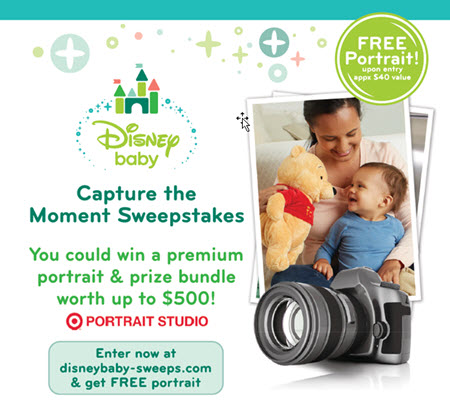 Disney Baby Capture the Moment Sweepstakes