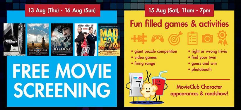 FREE Movie Screening at TGV Cinemas Dpulze Cyberjaya Open House2