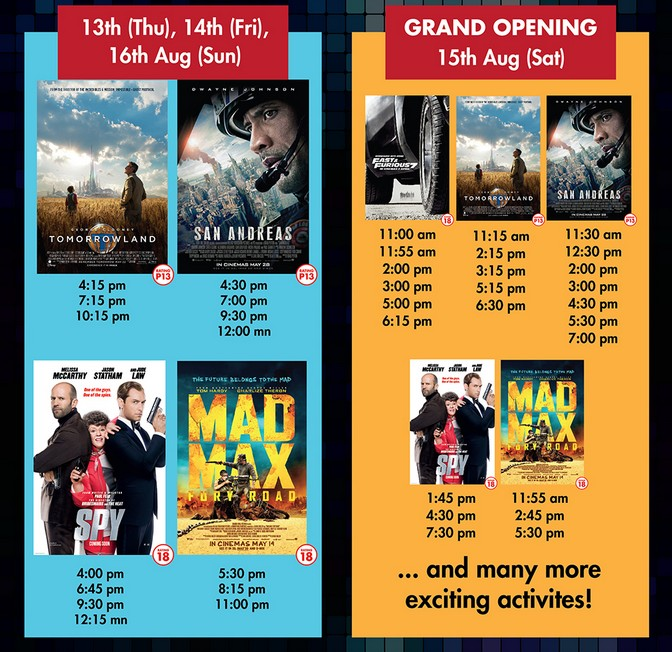 FREE Movie Screening at TGV Cinemas Dpulze Cyberjaya Open House3