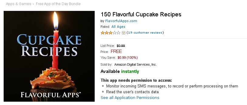 Free 150 Flavorful Cupcake Recipes at Amazon