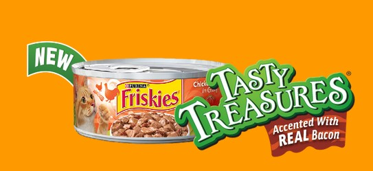 Free 5.5 oz can of Friskies® Tasty