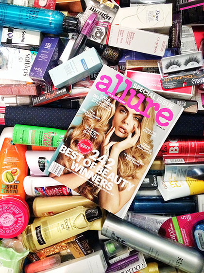 Free Best of Beauty suitcase at Allure USA