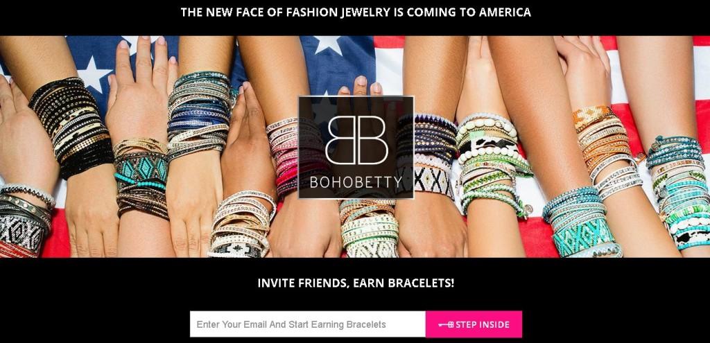 Free Boho Betty Bracelets