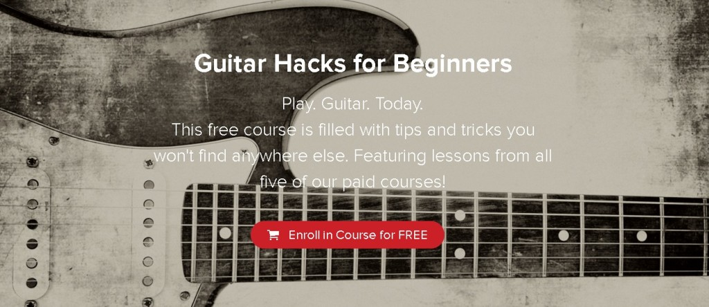 Free Course Guitar Hacks for Beginners