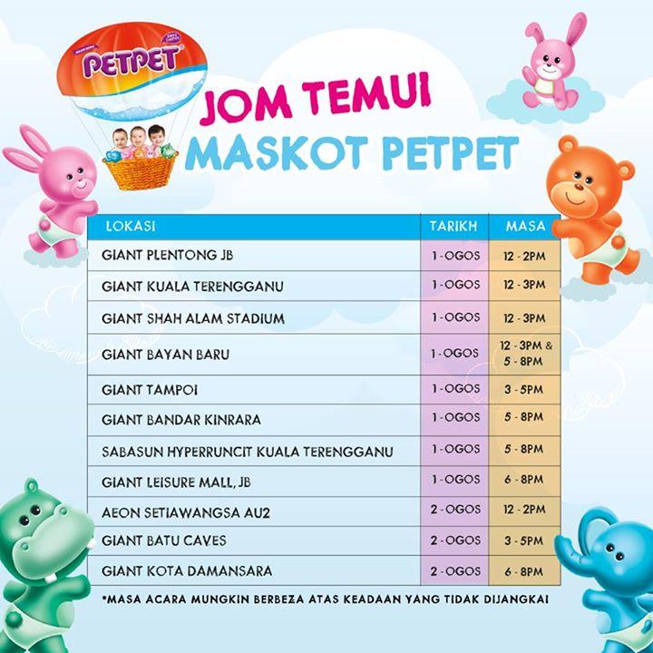 Free Sample at PETPET® Malaysia
