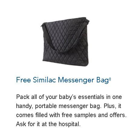 Free Similac Messenger Bag