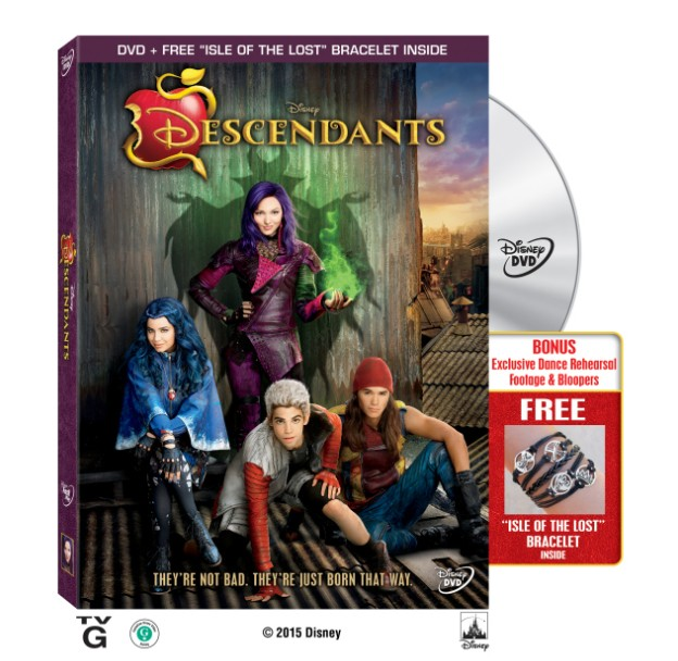 "Giveaway Disney ""Descendants"" DVD Cover"