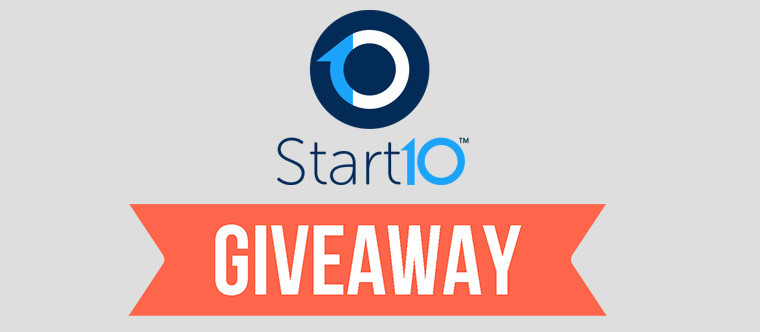 Neowin Giveaway 10 keys for Start10 up for grabs