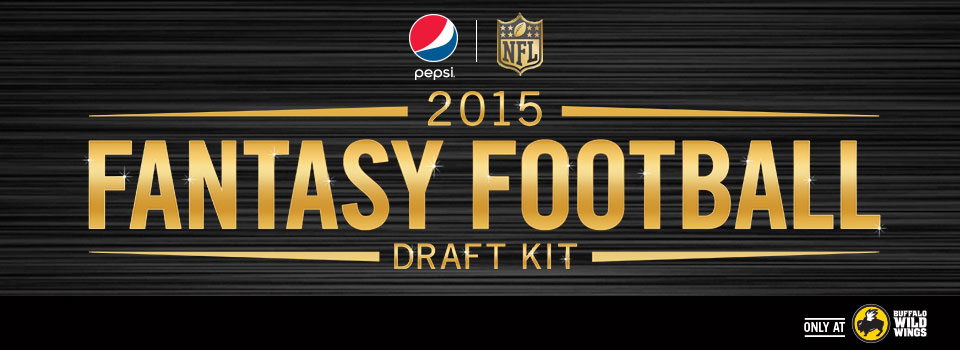 fantasy footballers giveaway pepsi fantasy football sweepstakes at buffalo wild wings 5113