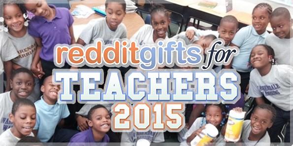 Redditgifts for the Teachers 2015