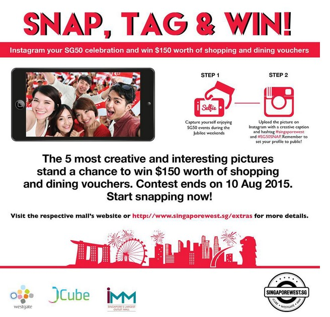 Win $150 worth of shopping & dining vouchers at Westgate