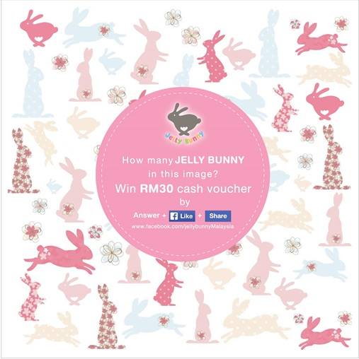 Win RM30 Jelly Bunny Cash Vouchers