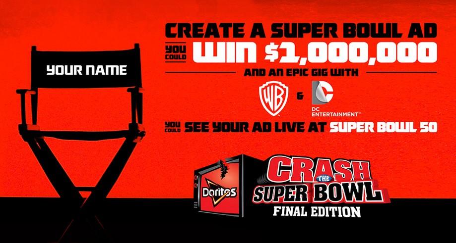Doritos USA  Crash The Super Bowl Final Edition Win $1,000,000