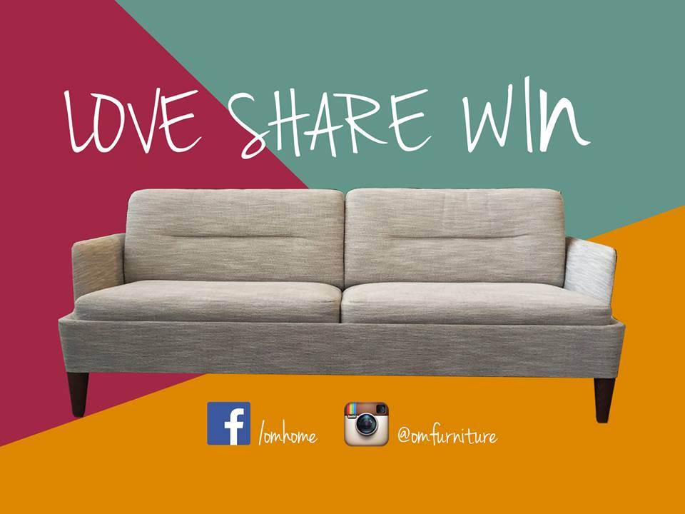 Om Home Singapore Sofa Giveaway Contest Giftout Free