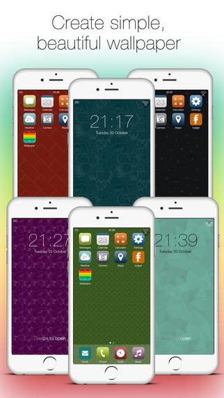 Worldwide Free Lifestyle IOS App Wallpaper Maker