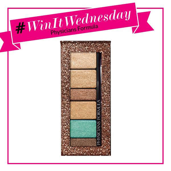 Enter to win our Shimmer Strips Custom Eye Enhancing Extreme Shimmer shadow & Liner, Bronze Nude