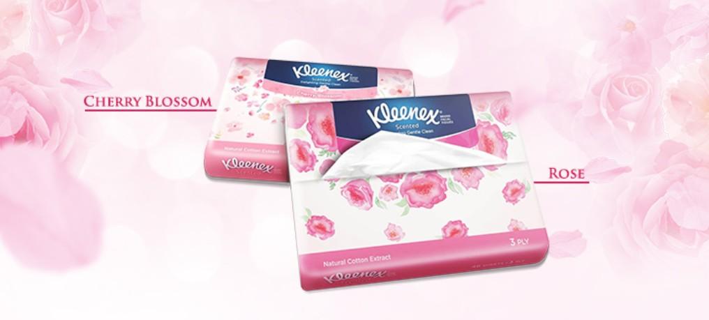 Free Sample at Kleenex Malaysia
