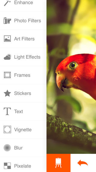 Free iOS Photo & Video App Phoenix Photo Editor By Ilya Kuznetsov