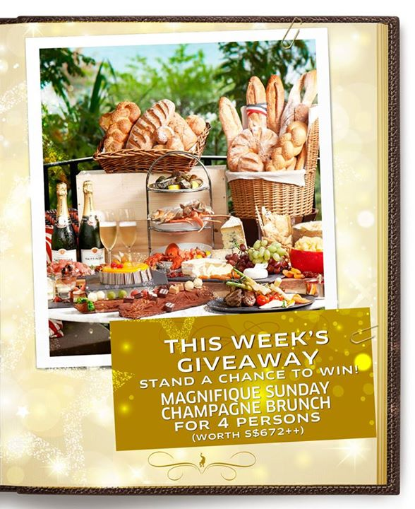 "WIN a 'Magnifique Sunday Champagne Brunch"" at Kwee Zeen, Sofitel Singapore Sentosa Resort & Spa"