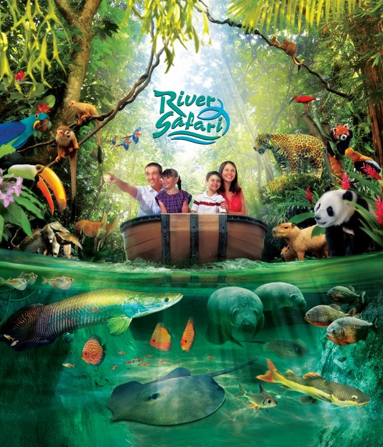 Birthday Special Free Admission to River Safari Singapore