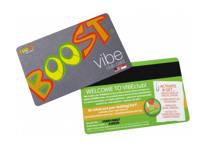 Free BOOST on your birthday