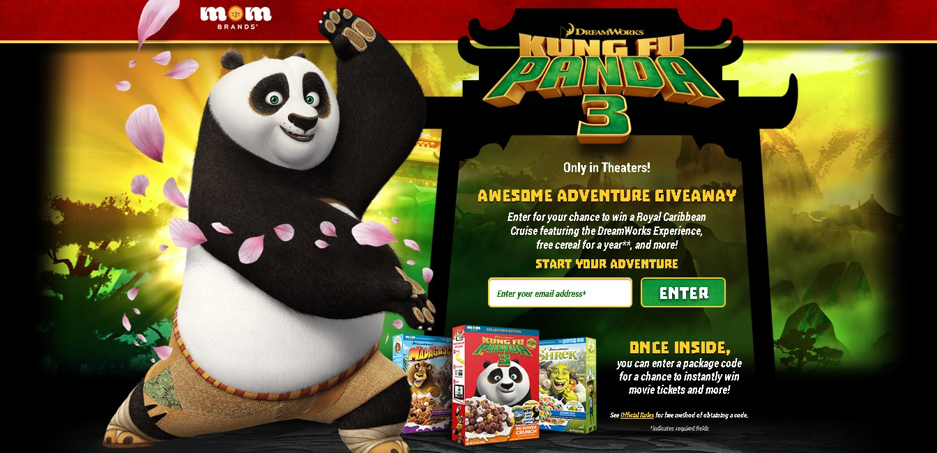 KUNG FU PANDA AWESOME ADVENTURE GIVEAWAY - #GIFTOUT #FREE