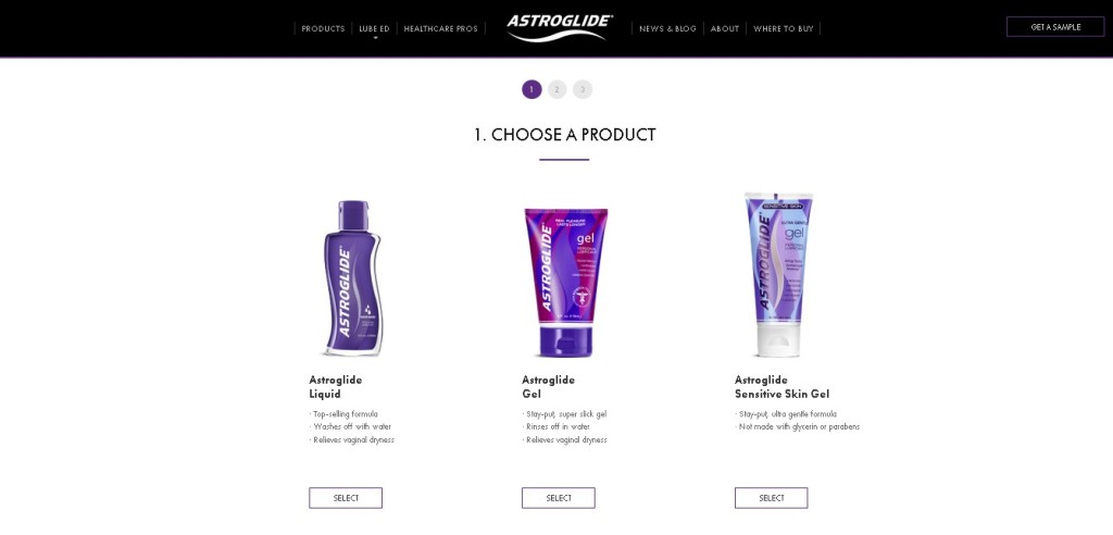 Request a Sample at Astroglide USA