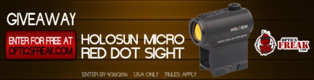 WIN HOLOSUN Micro Red Dot Sight