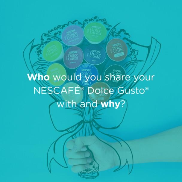 WIN NESCAFÉ® Dolce Gusto® capsules at NESCAFÉ Dolce Gusto Malaysia