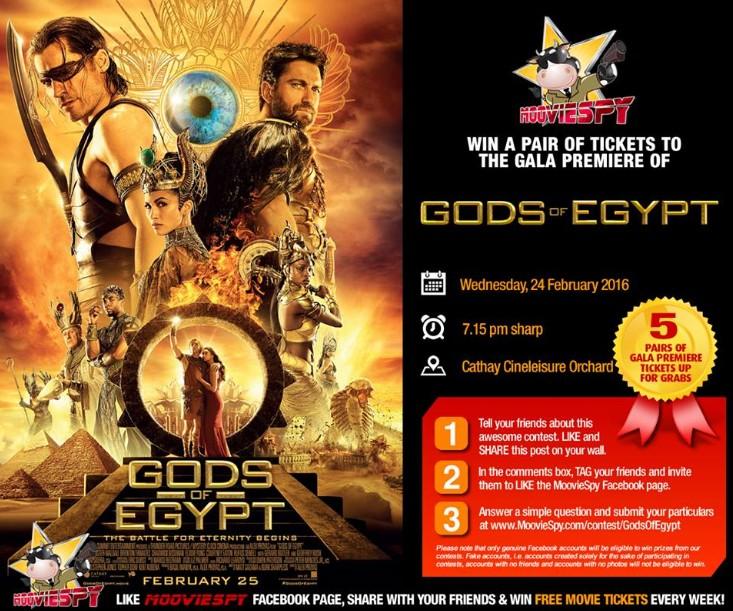 gods of egypt full movie free