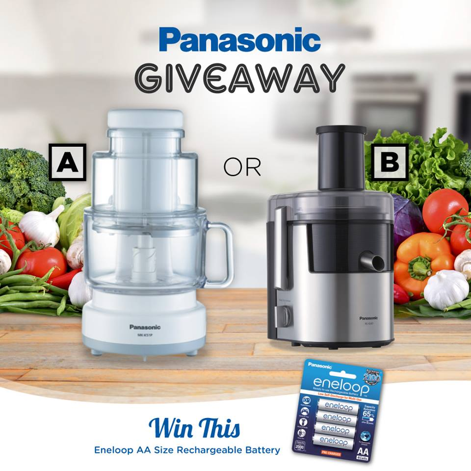 #giftout Win a pack of eneloop Battery AA at Panasonic Malaysia
